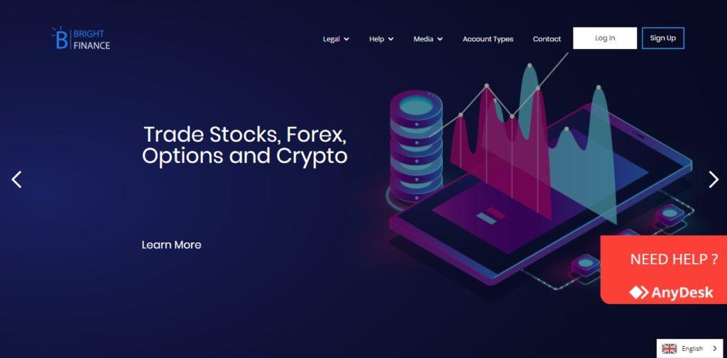BrightFinance – Join the Most Innovative Broker & Trade on Latest Platforms